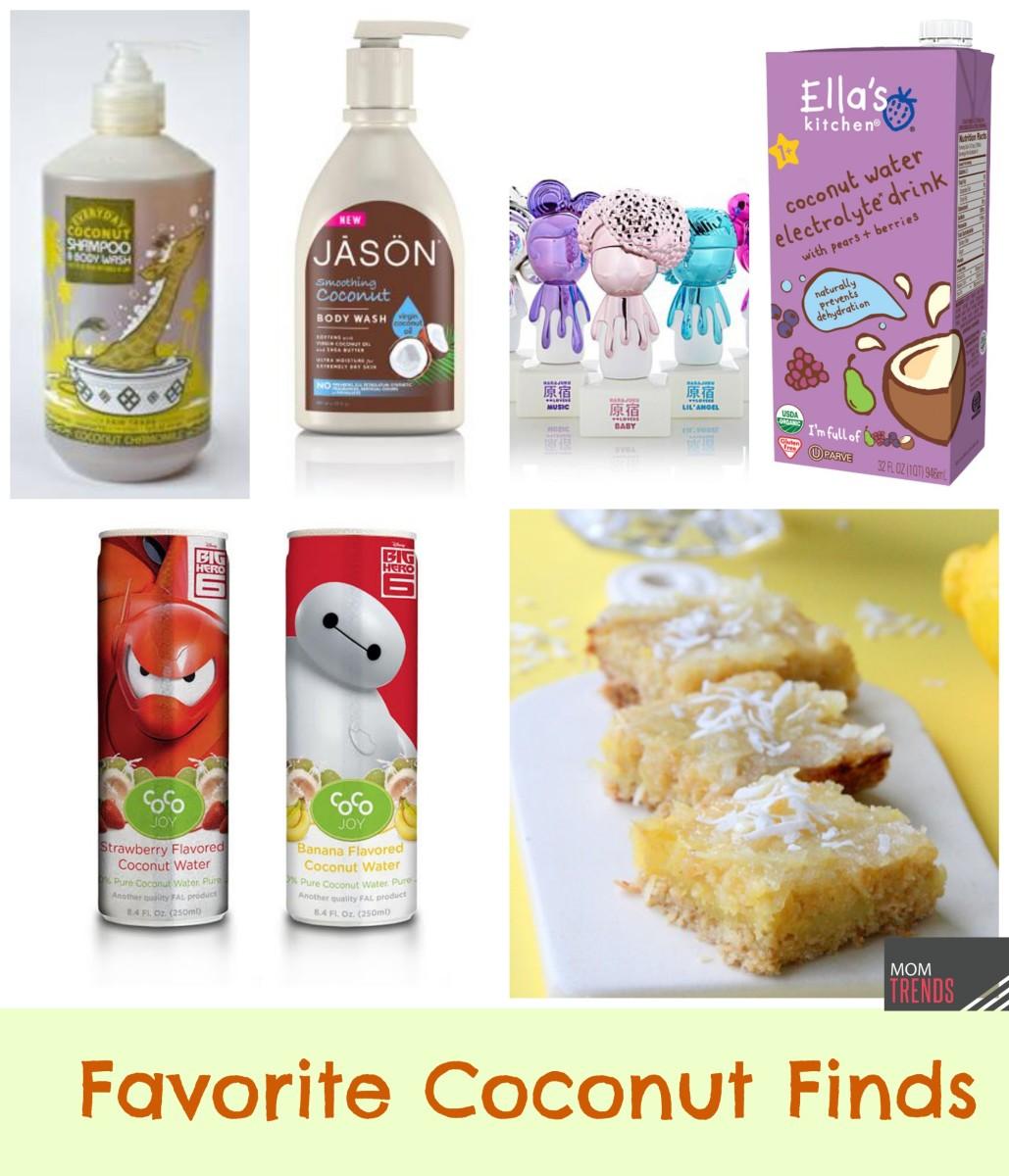 Favorite Coconut Finds