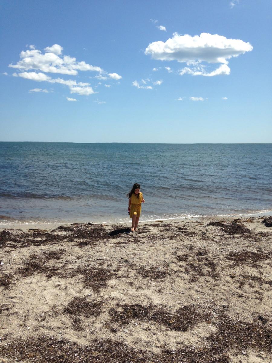 West Island beach