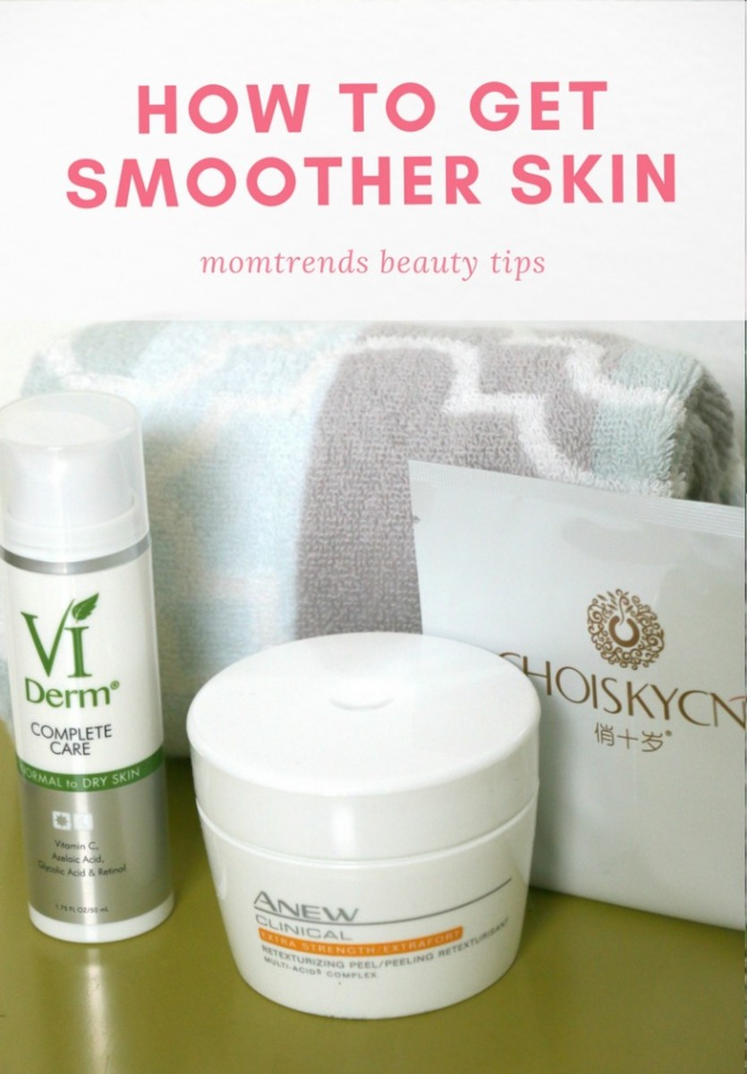smoother skin tips