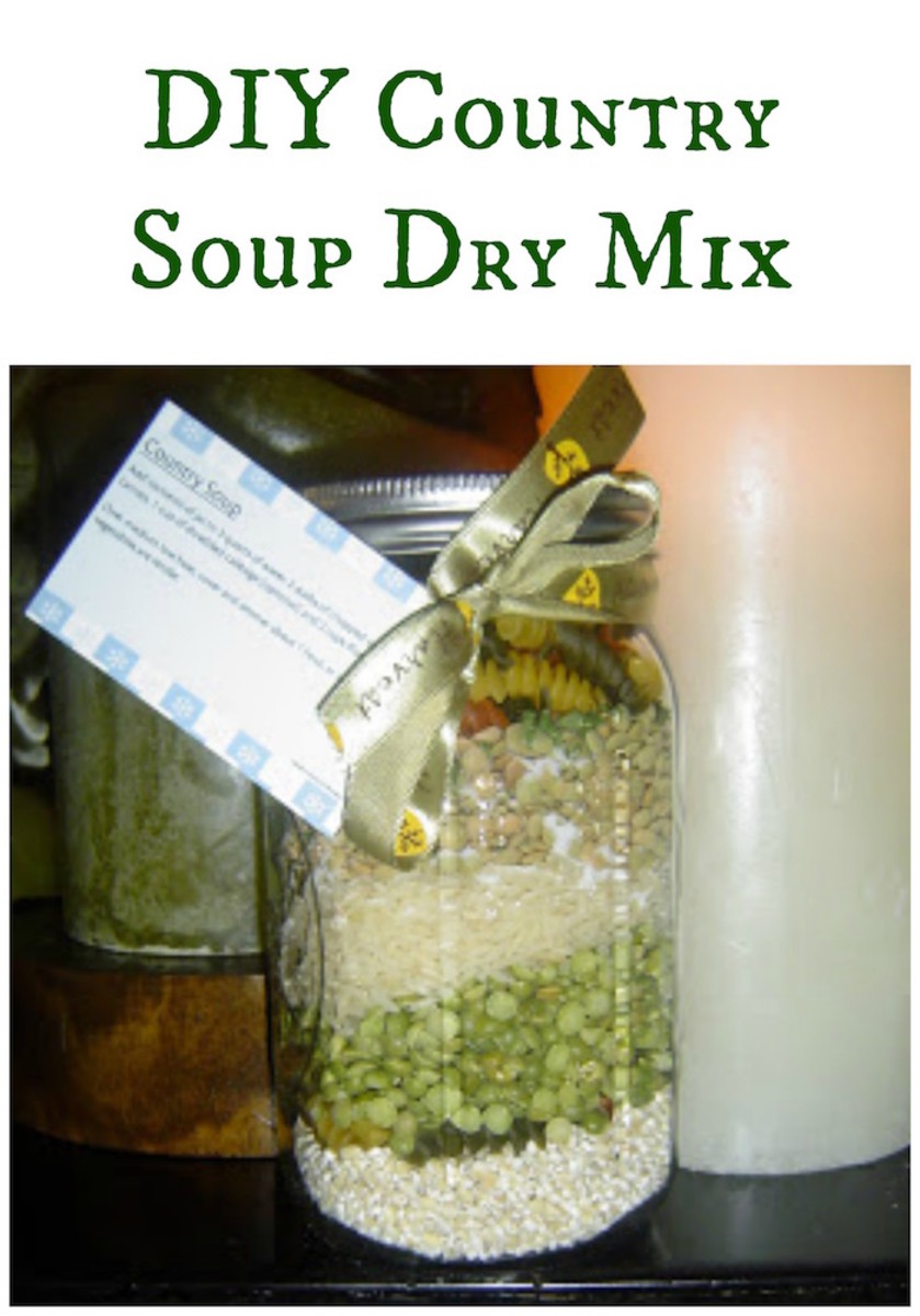 DIY Country Soup Dry Mix
