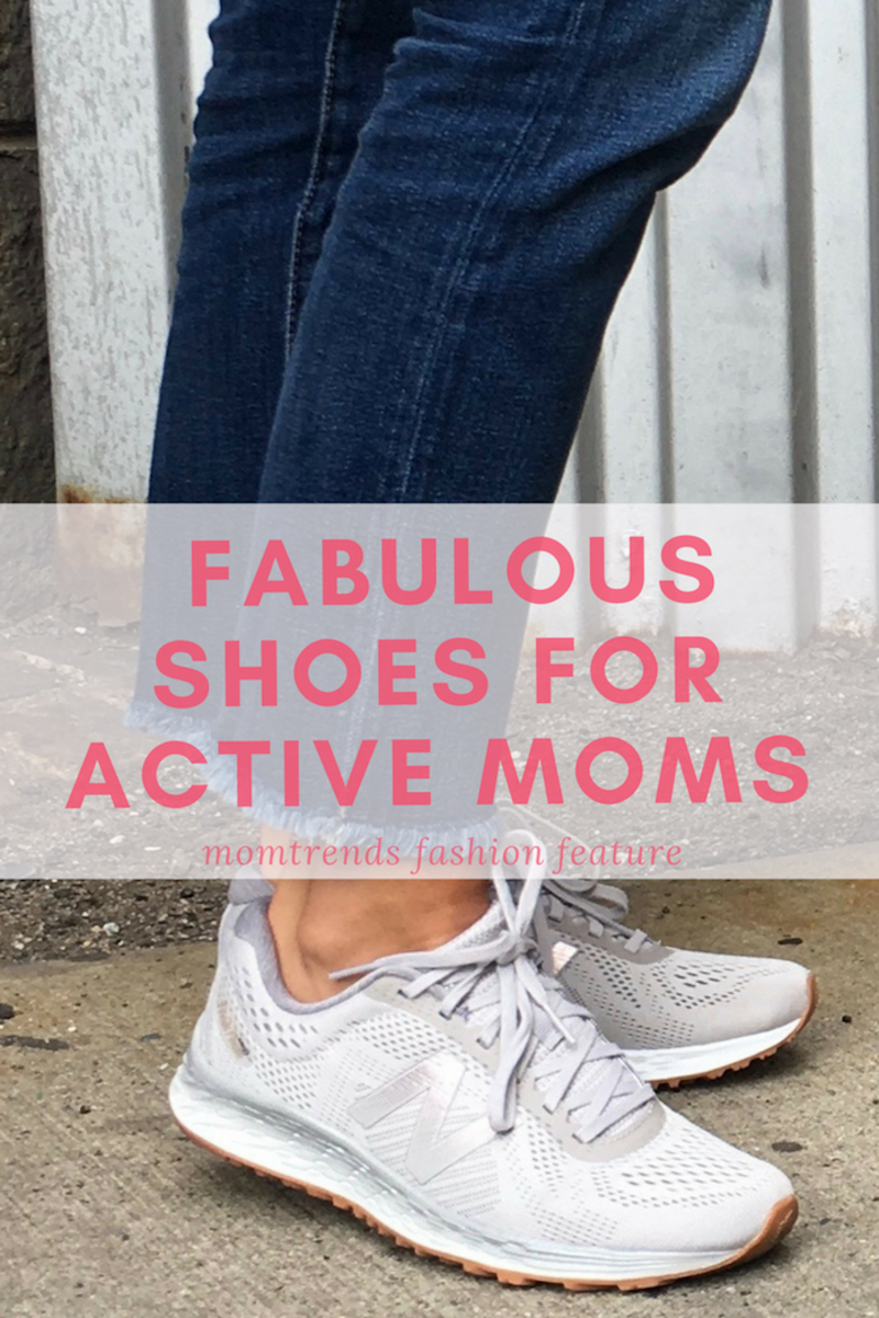 Supportive Walking Shoes Active Moms #fitmoms