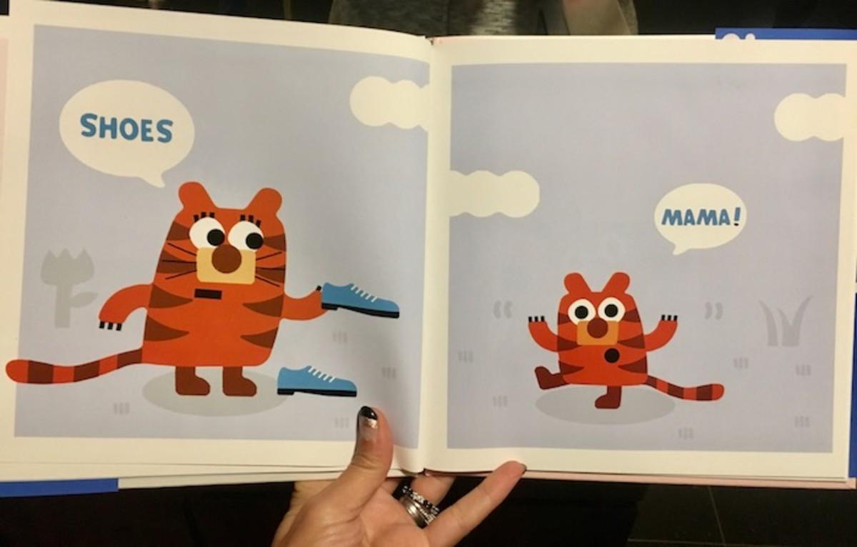 Mama Book Illustrations