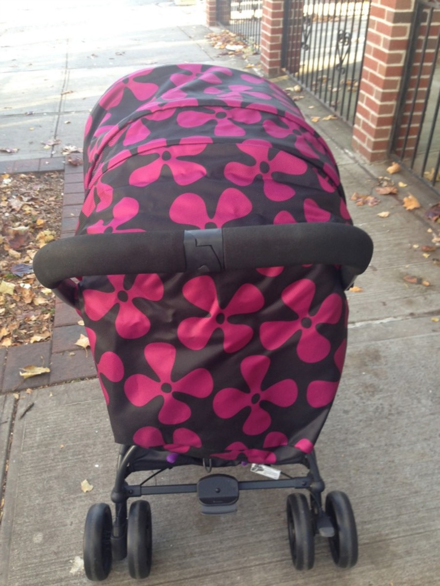 GB Ellum Stroller Review3