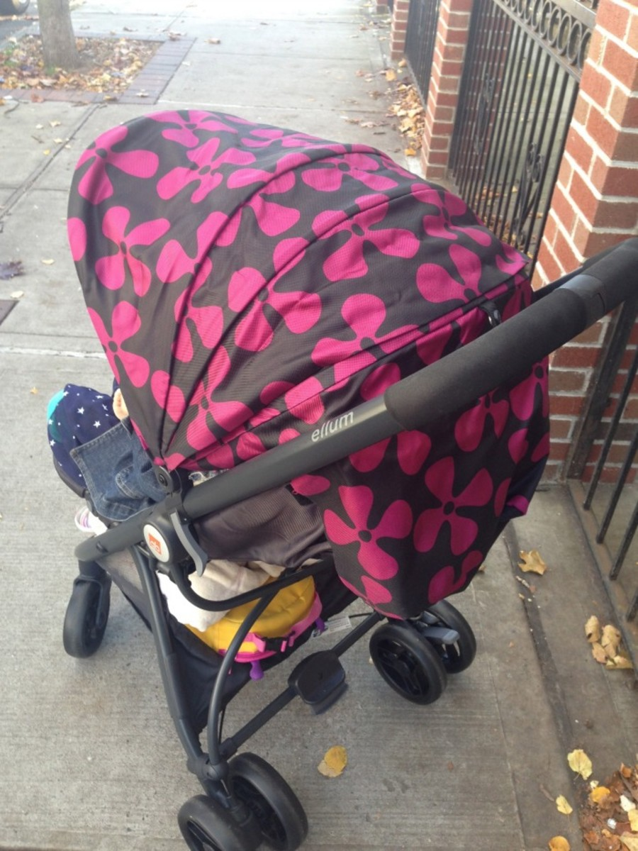 GB Ellum Stroller Review5