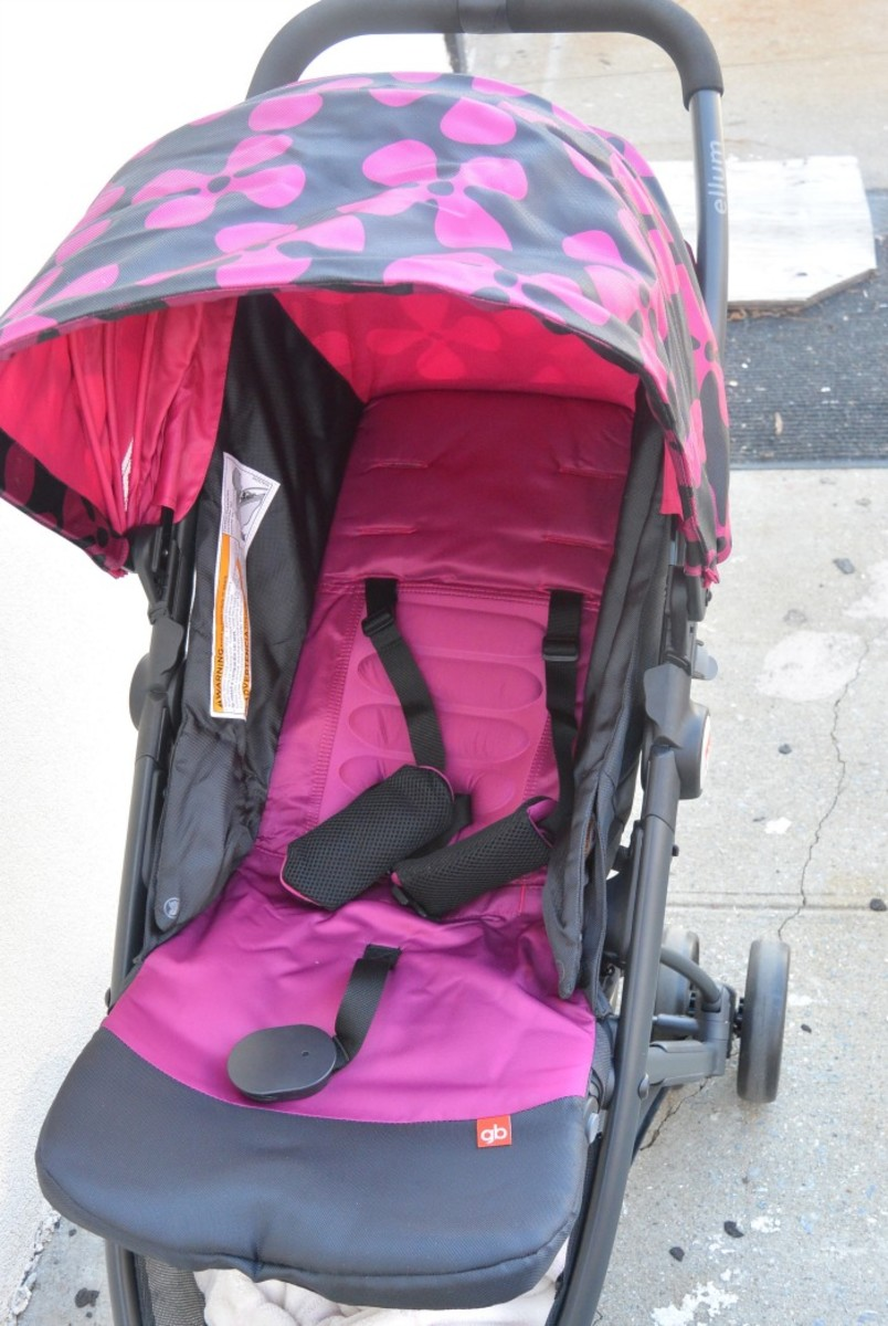 GB Ellum Stroller Review4