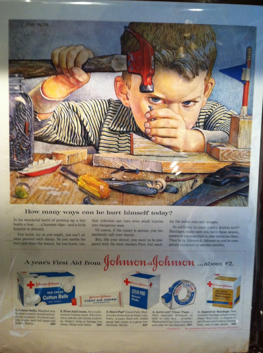Johnson and Johnson Ad