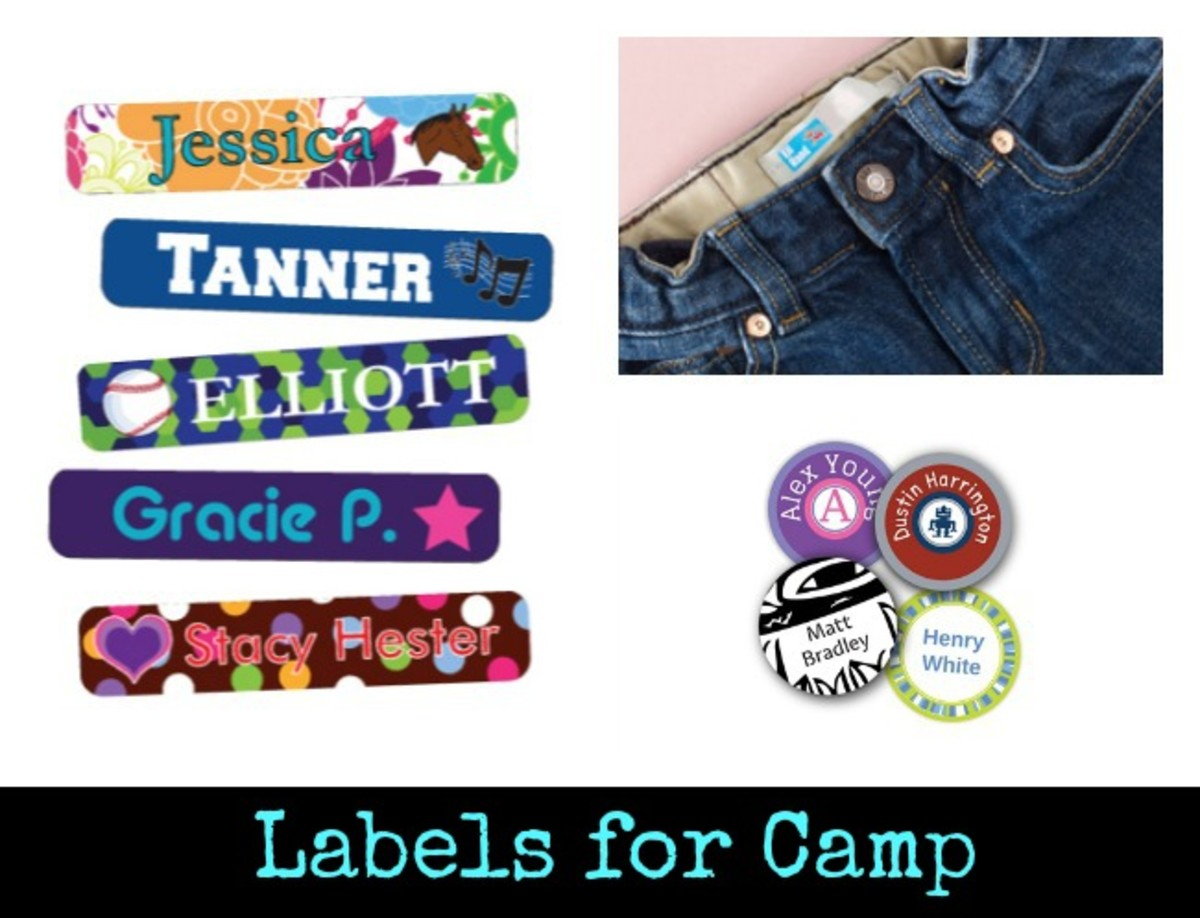 Labels for Camp