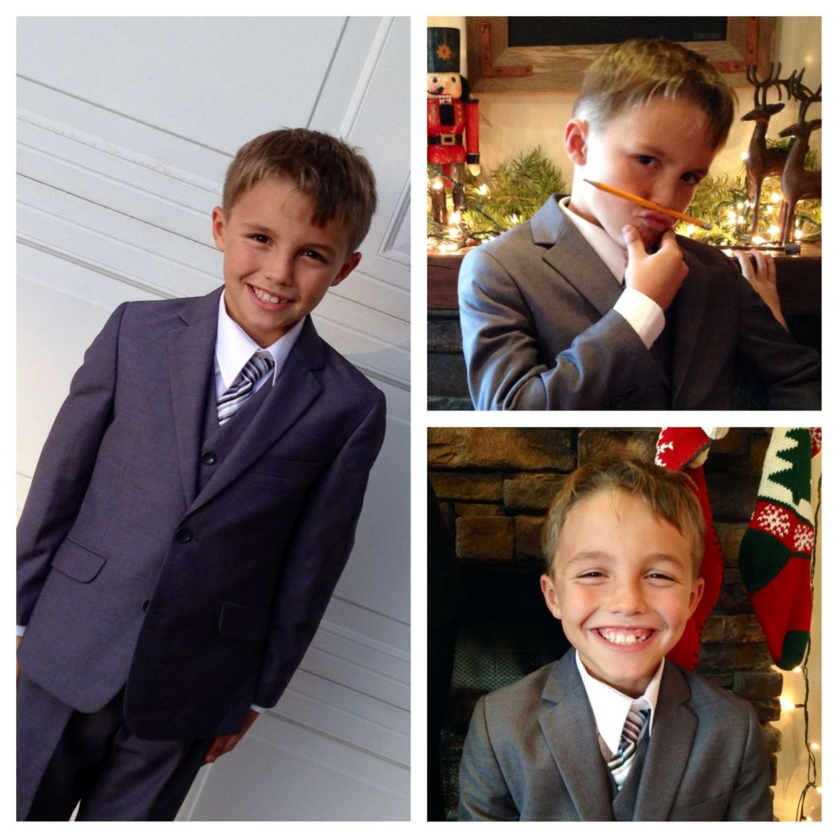 Black N Bianco suits for boys