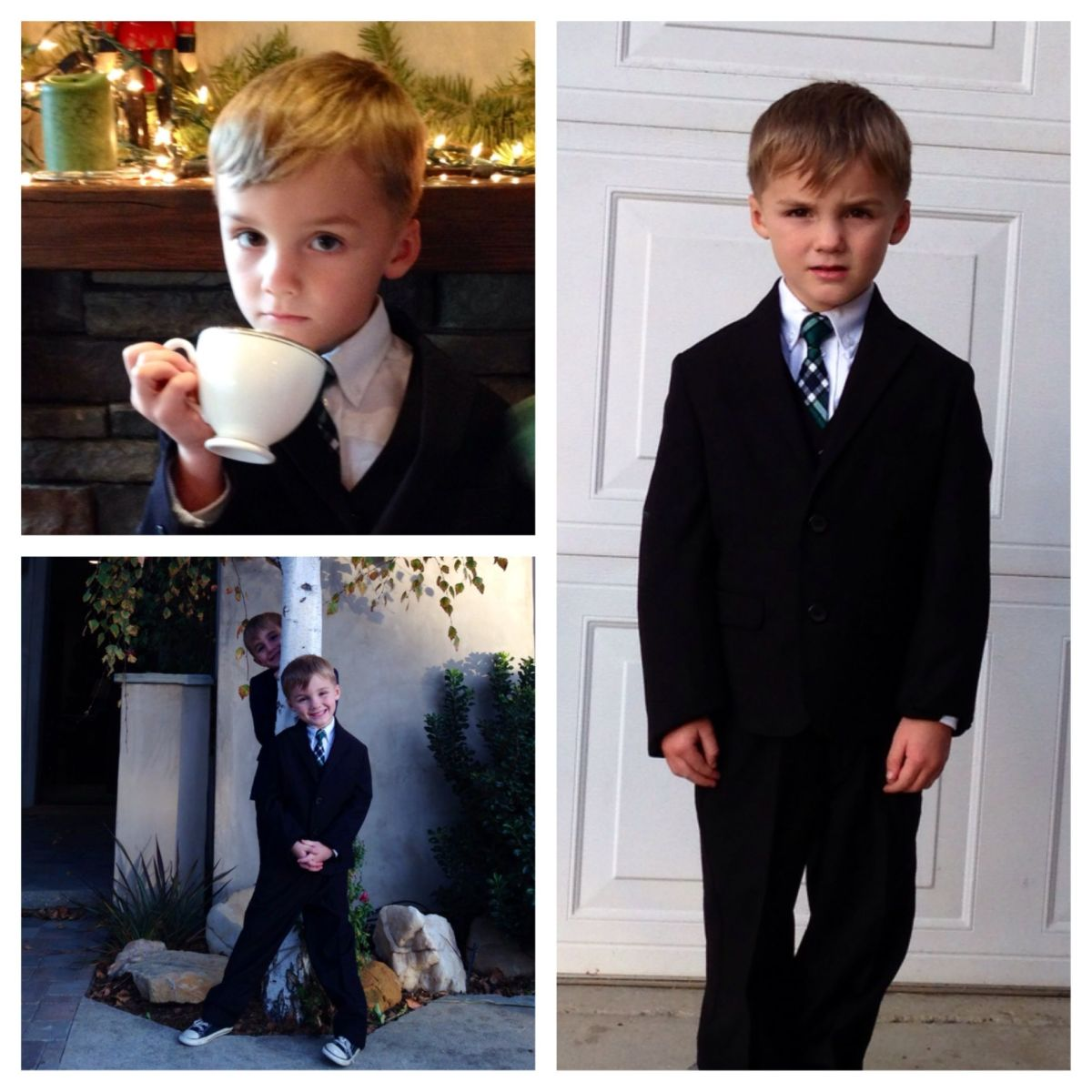 IZOD suits for boys