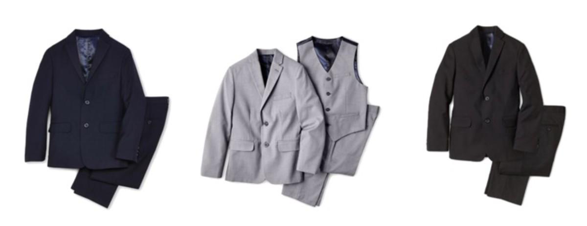 IZOD boys suits