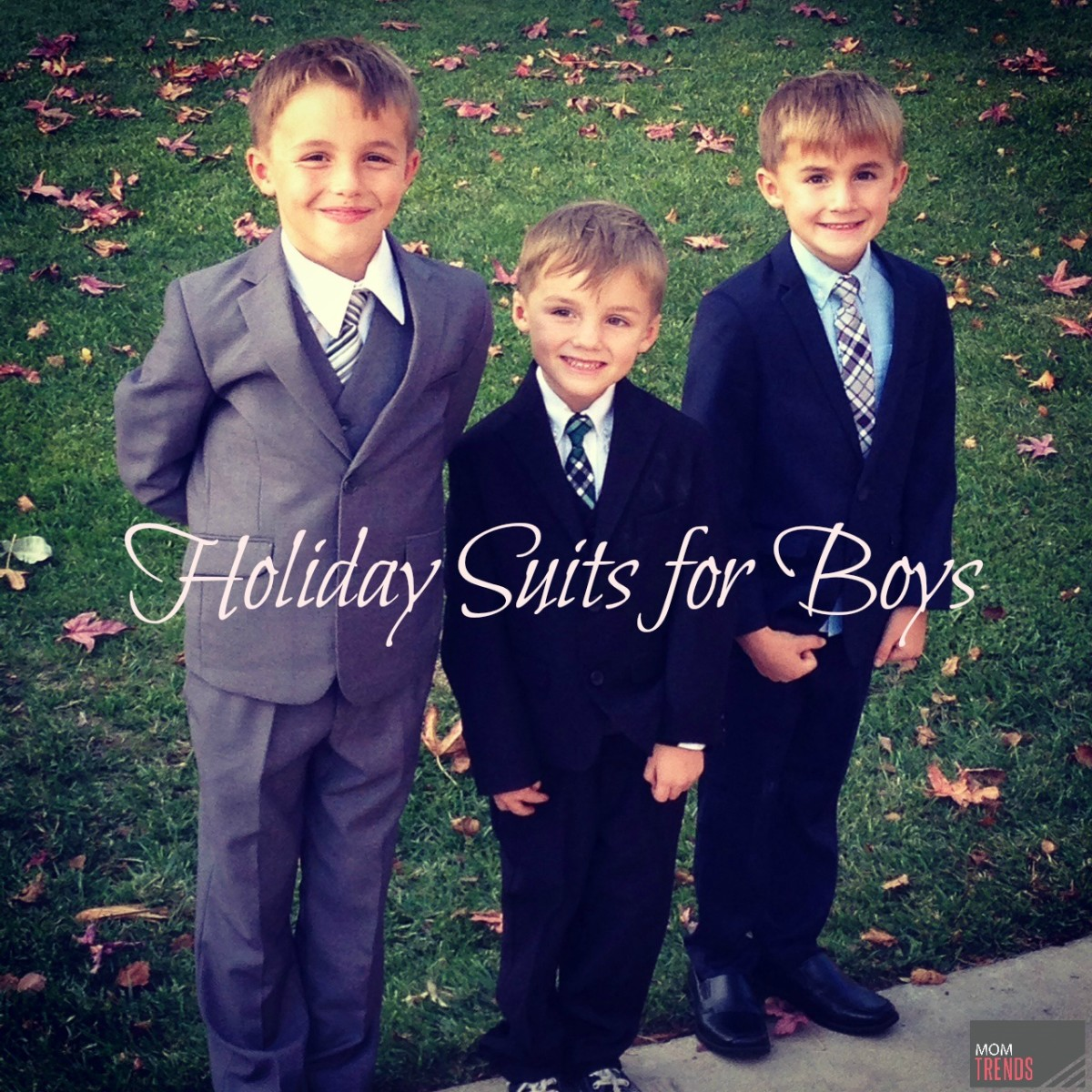 Holiday Suits for Boys