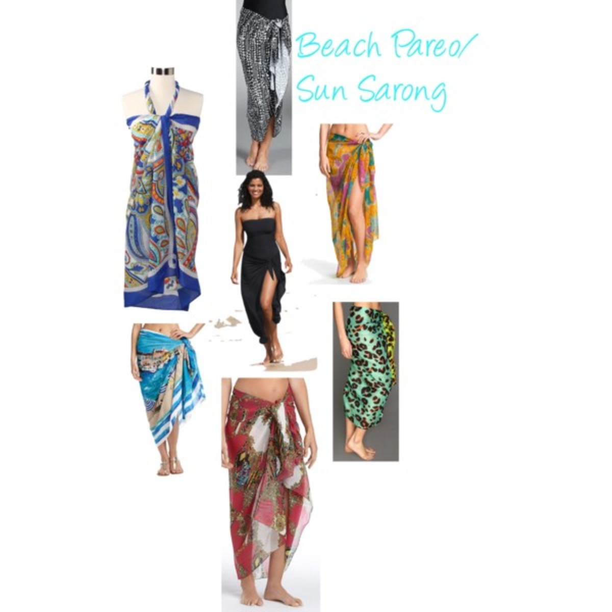 beach pareo.sun sarong