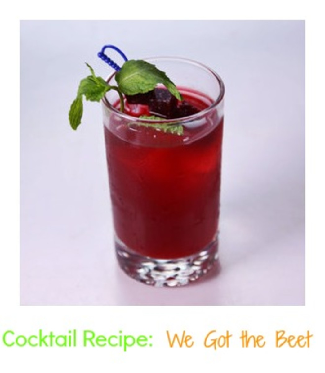 beet cocktail, healthy cocktail, videos, the chew, clinton kelly, beet cocktails, unusual food pairings
