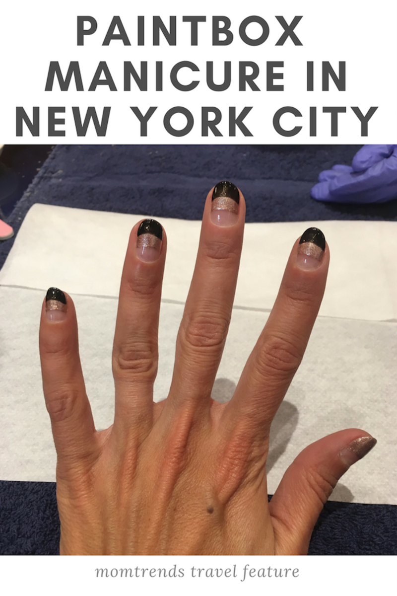 Paintbox manicure New York City