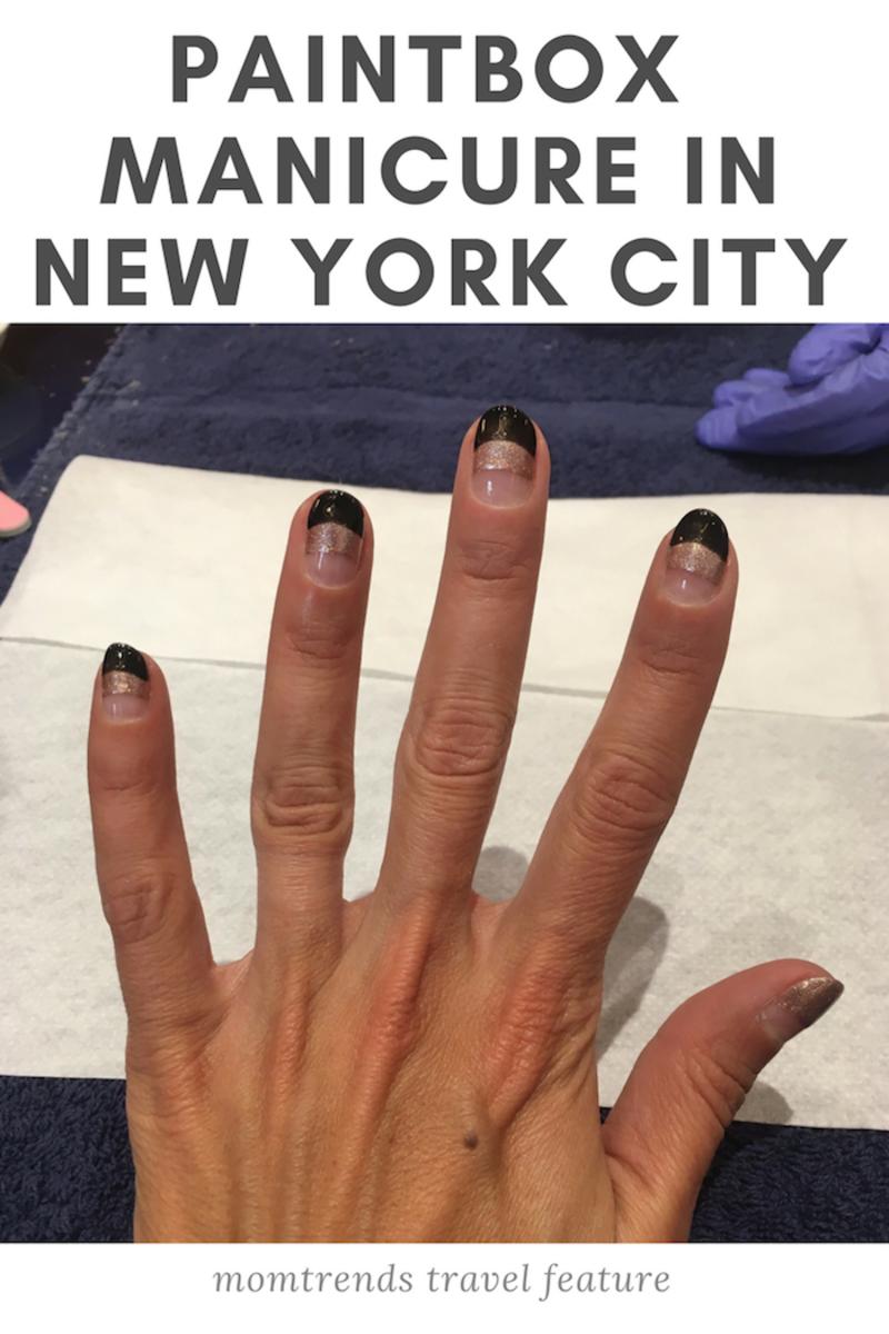 Paintbox manicure New York City