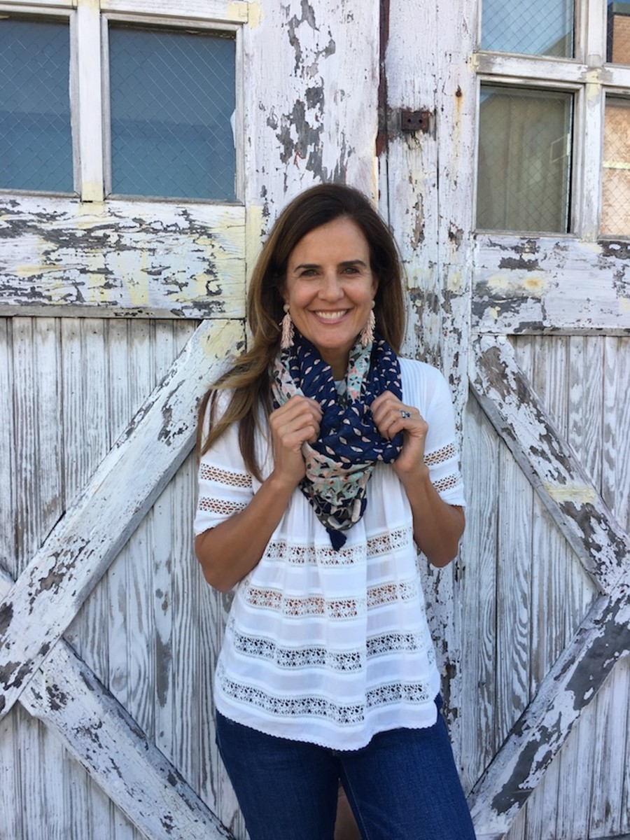 Favorite infinity scarf