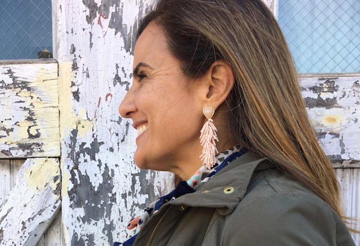 Stella Dot Riva Tassel Earrings