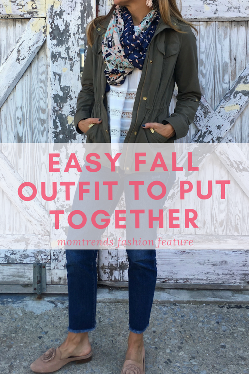 Easy Fall Outfit to Put Together: Favorite accessories for mom #momstyle