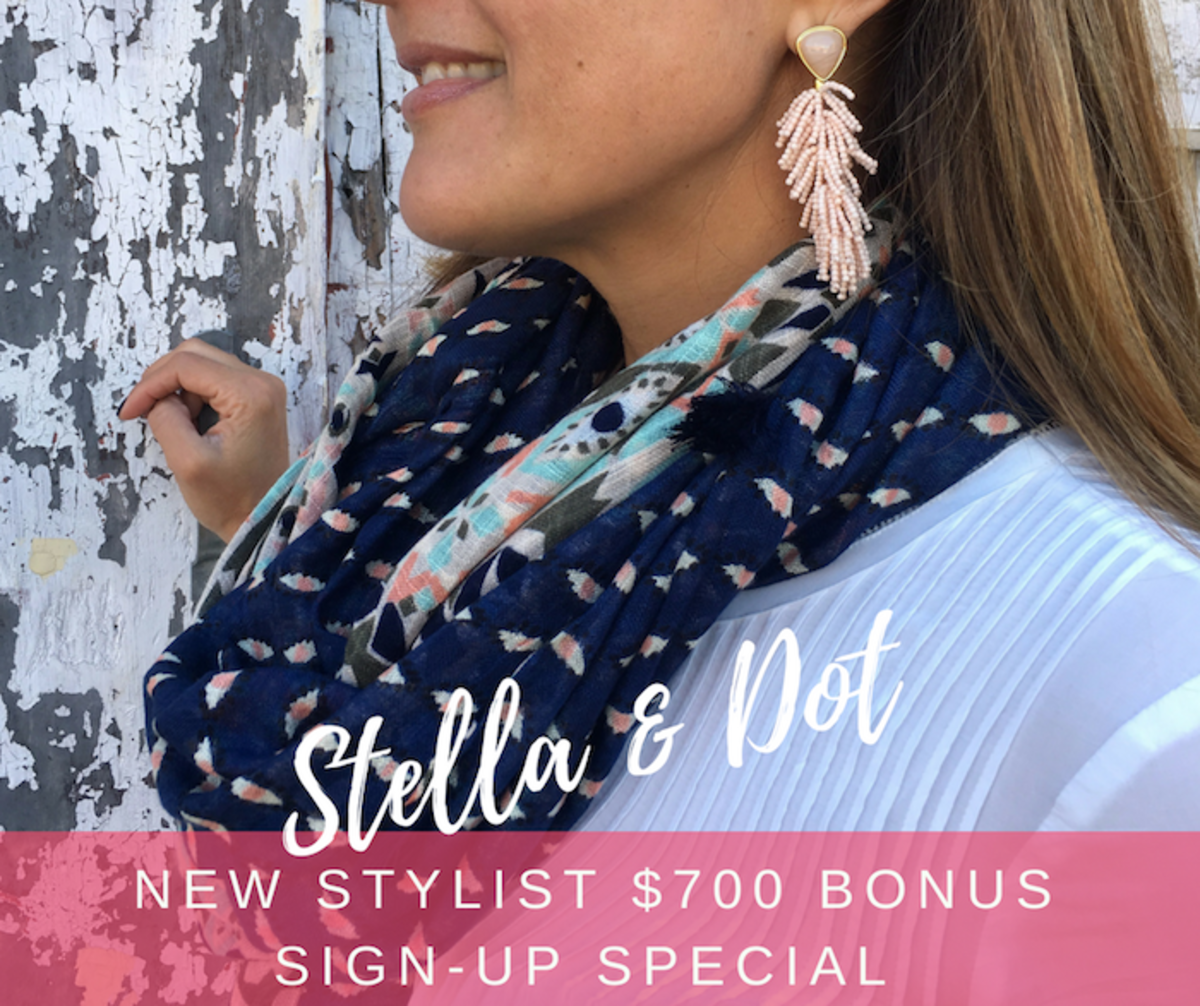 Stella & Dot new Stylist sign-up special.