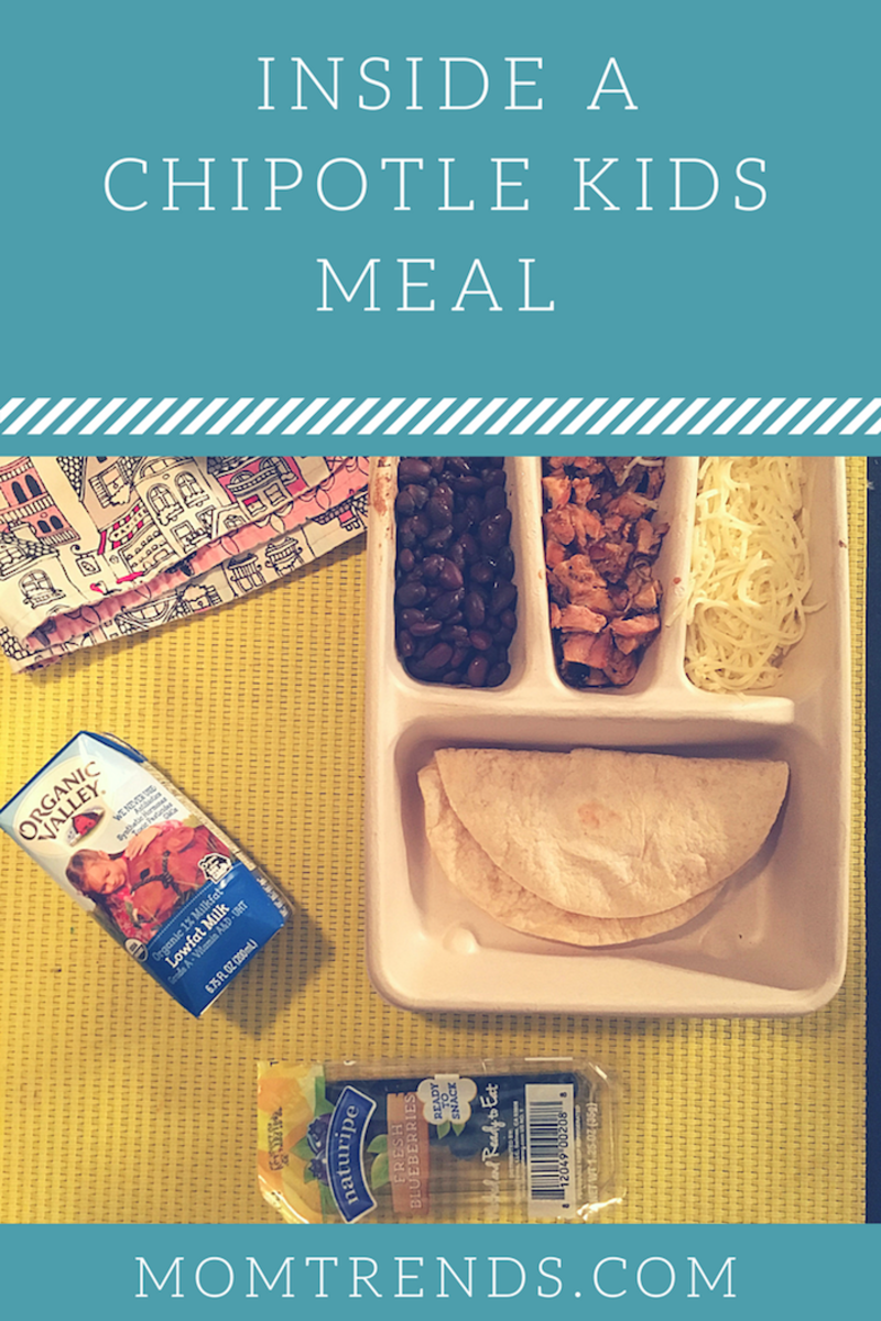 Review Chipotle Kids Meal