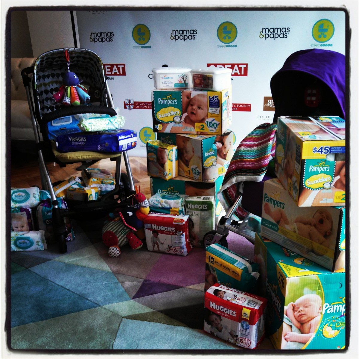 baby buggy donations