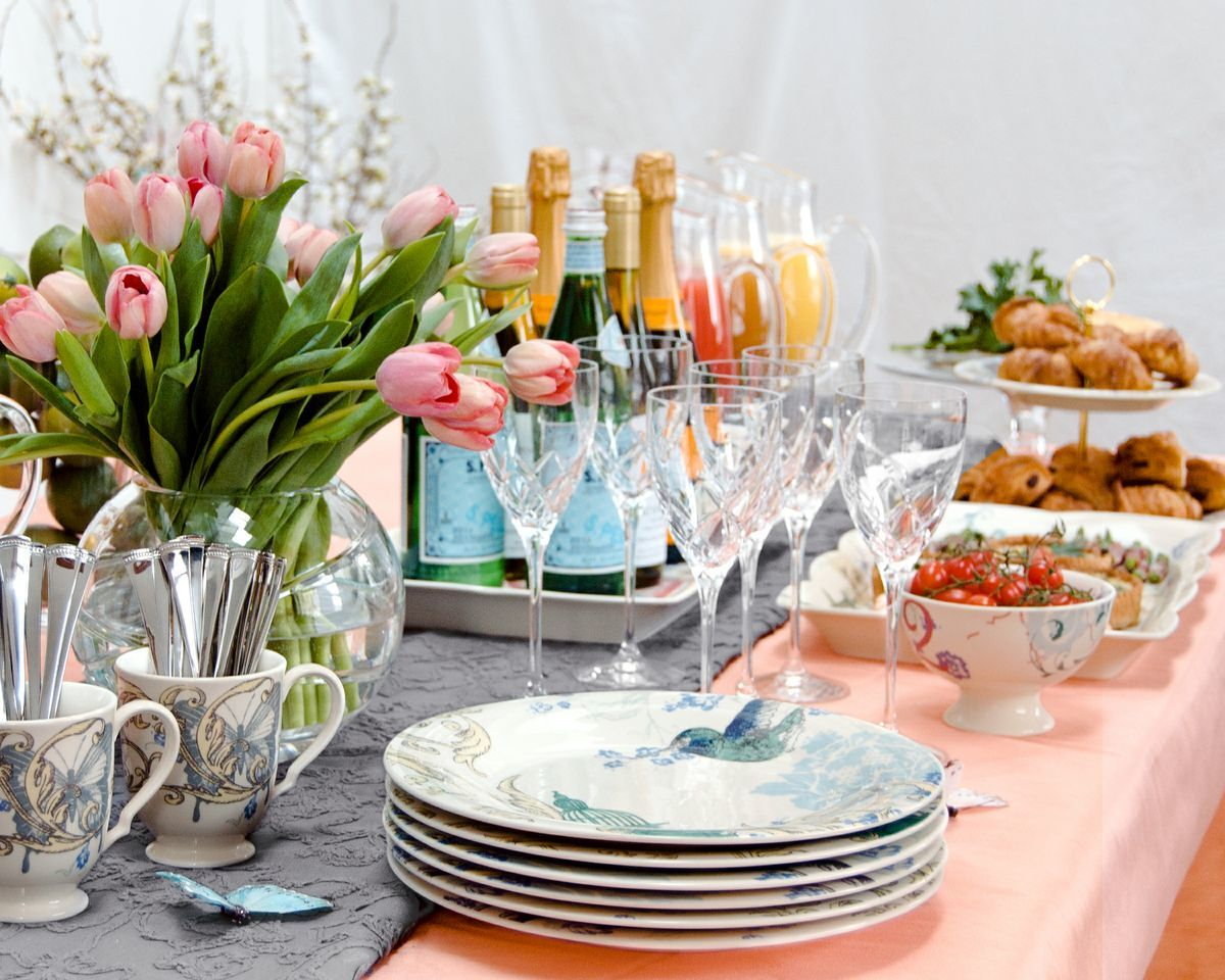 8 Ways To Add Spring To Your Brunch By Lenox