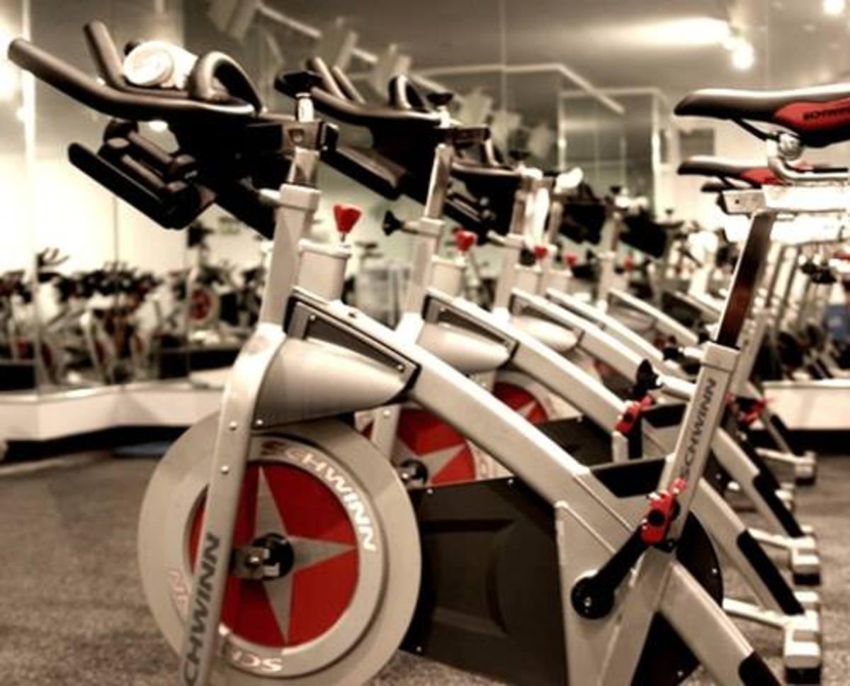Schwinn Indoor bikes at Revolve Cycle Studio