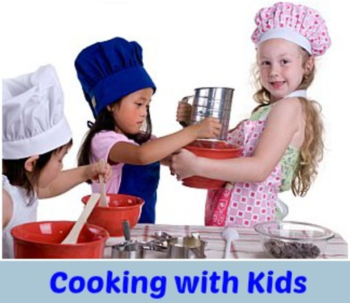 Cooking with Kids, kids cooking