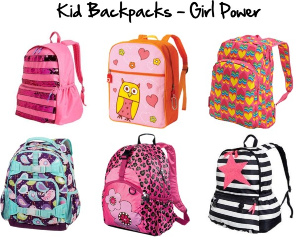 Kid Backpacks - Girl Power