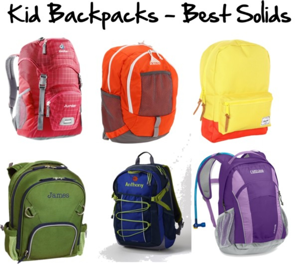 Kid Backpacks - Best Solids