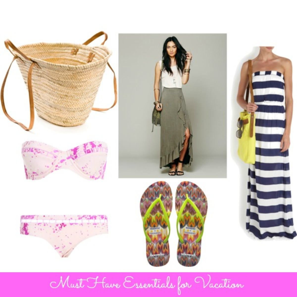 vacation essentials, items for moms