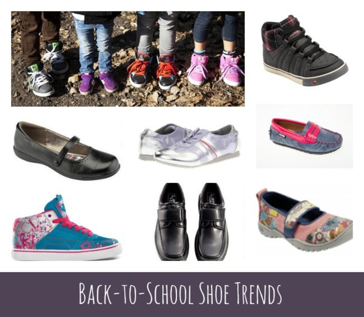 shoe trends. shoe trends for kids, back to school
