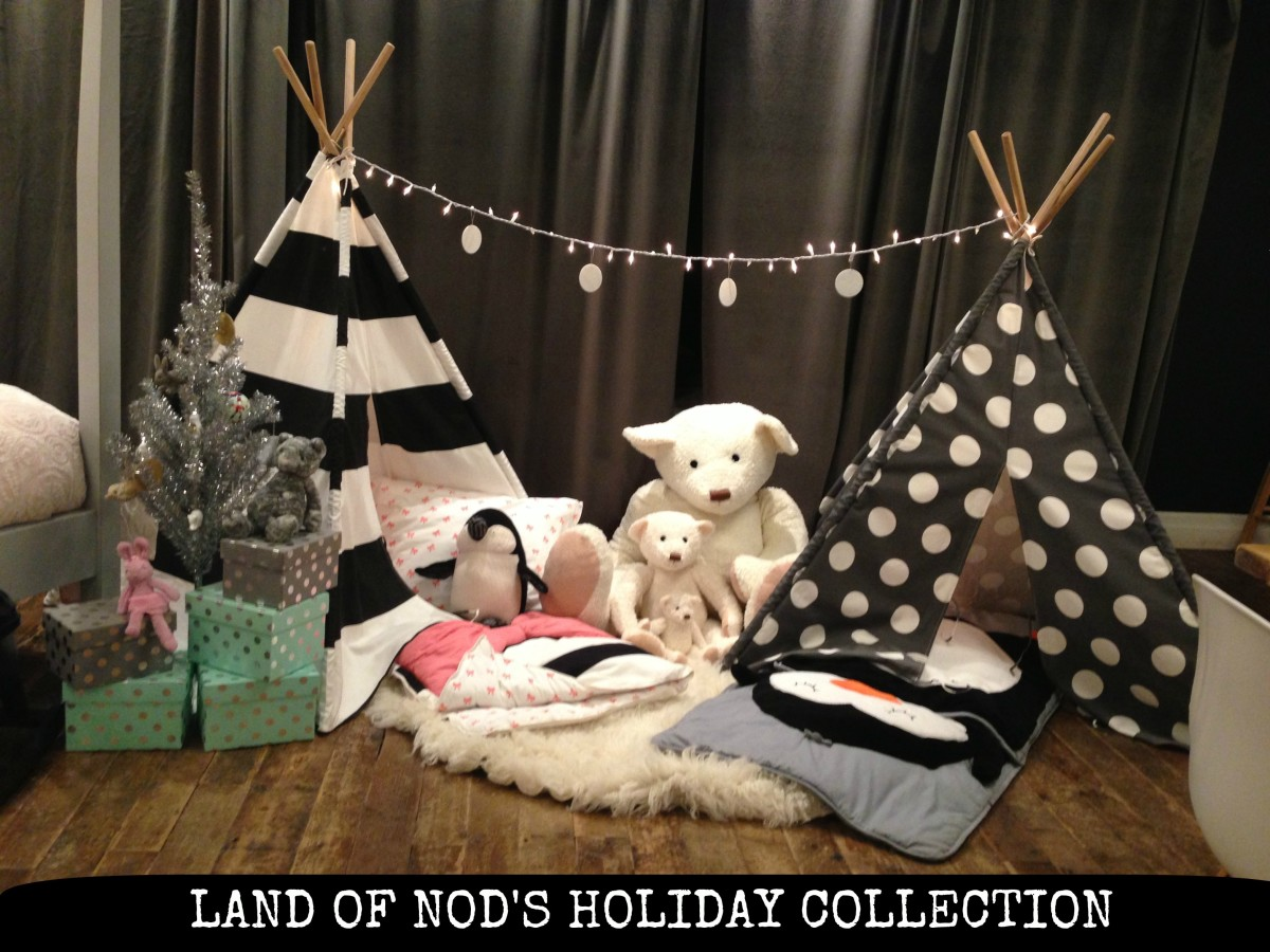 land of nod holiday collection,