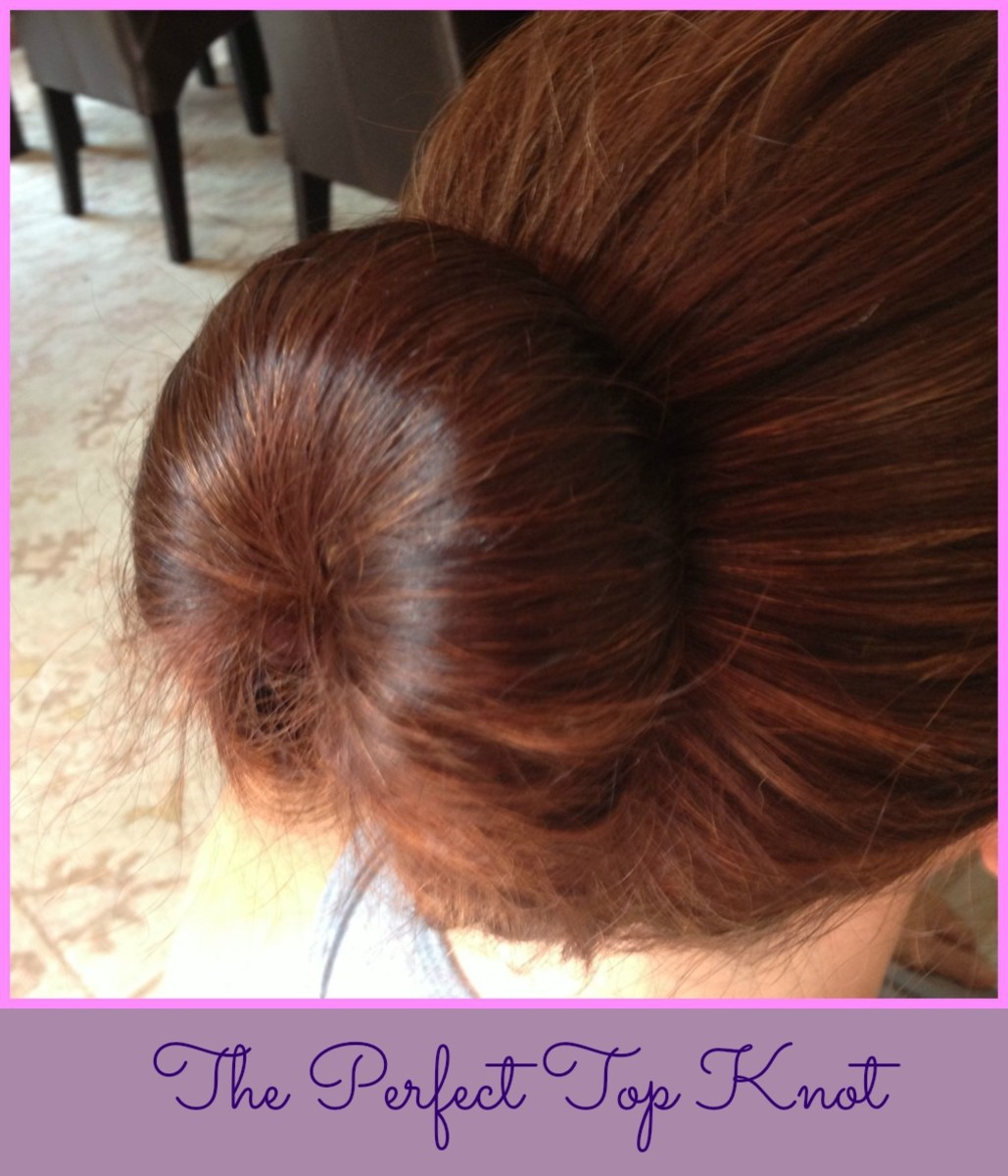 Perfect Top Knot, hair trends