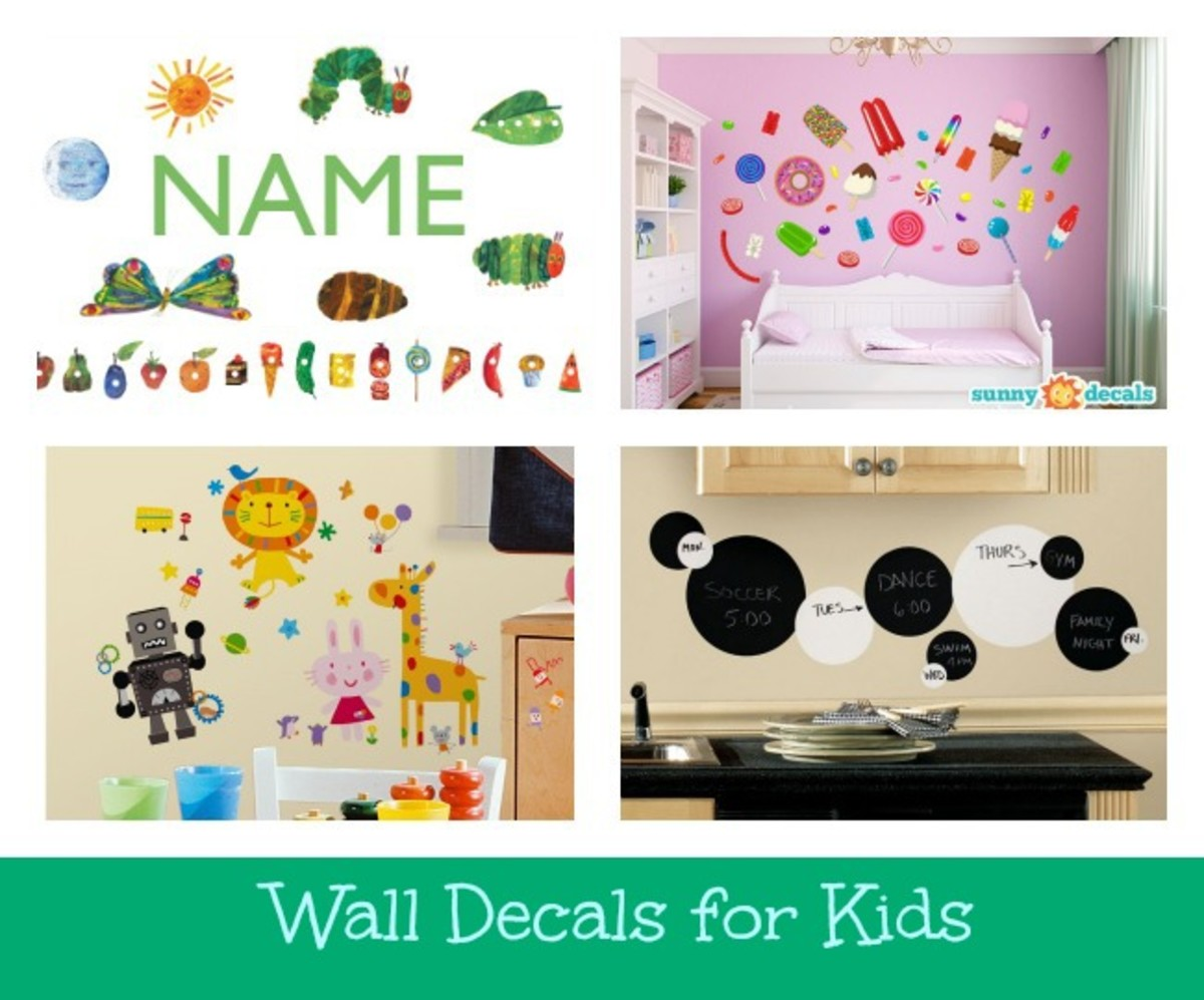 wall decals, wall decals for kids
