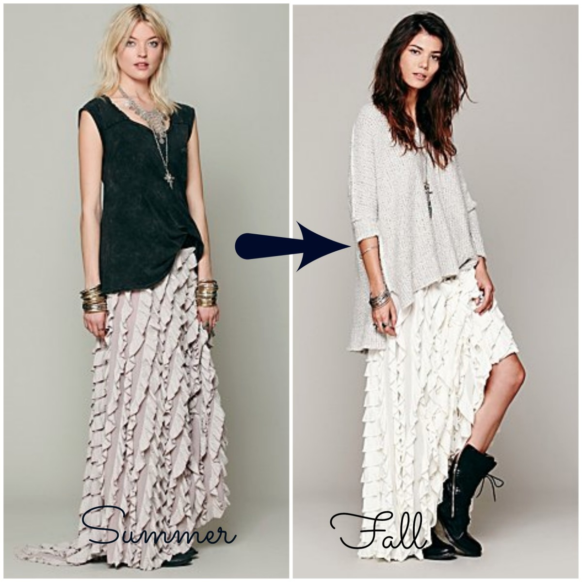 summer to fall clothes