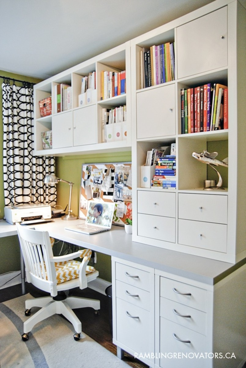 Home office organization ideas - Organized office desk ...
