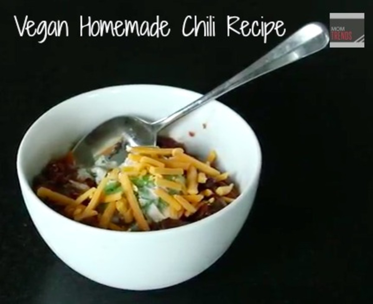 Vegan Homemade Chili Recipe