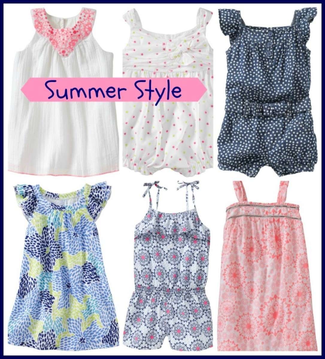 old navy, summer style, sundresses, rompers