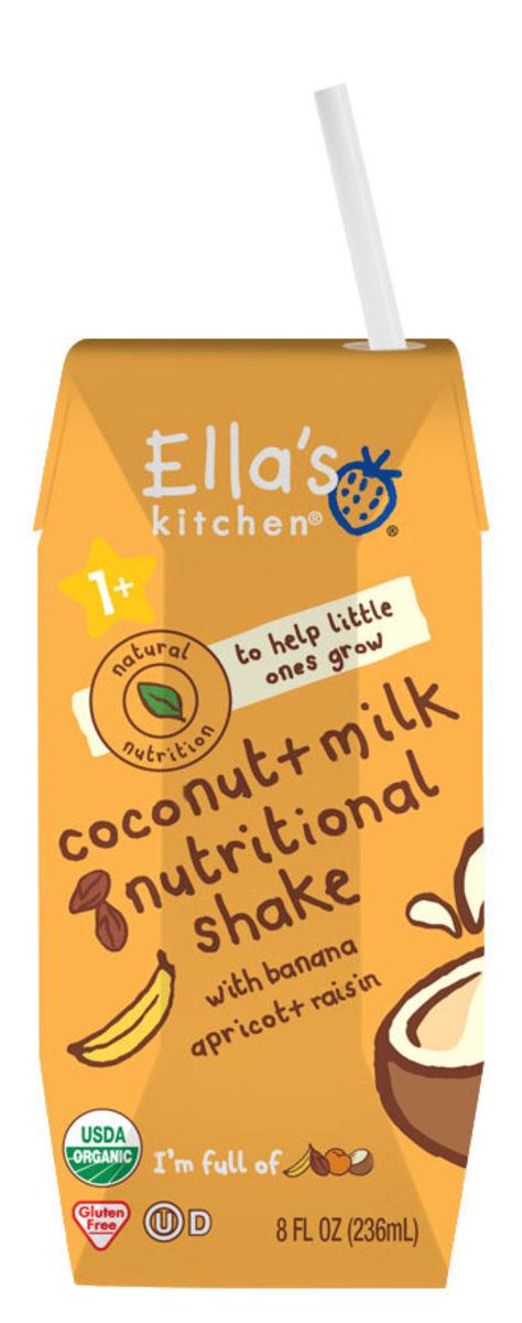 EK Coconut Milk Nutritional Shake - Banana Apricot Raisin