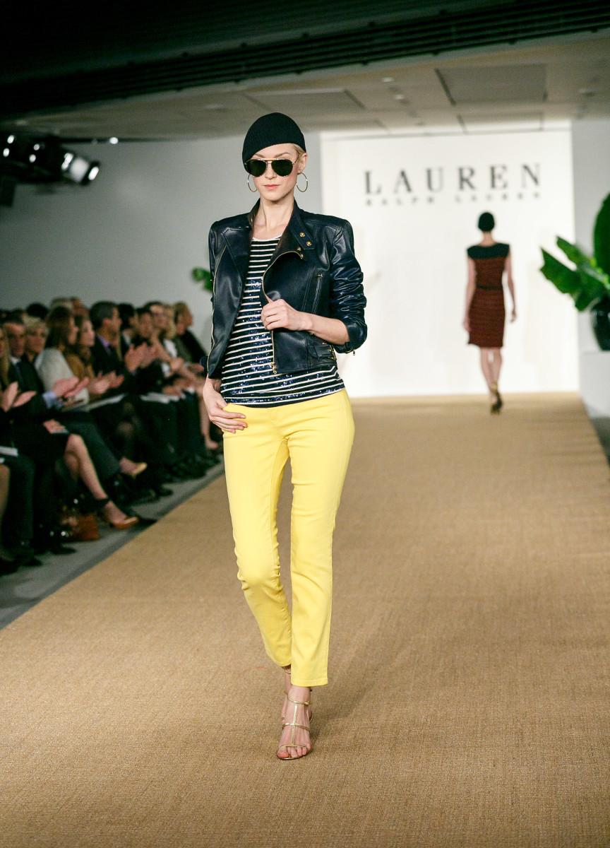 Lauren fashion show