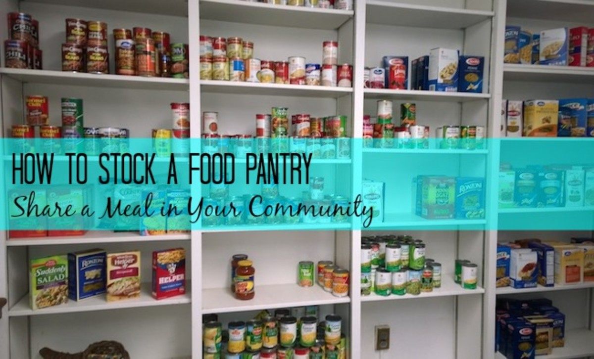 Stock your Food pantry