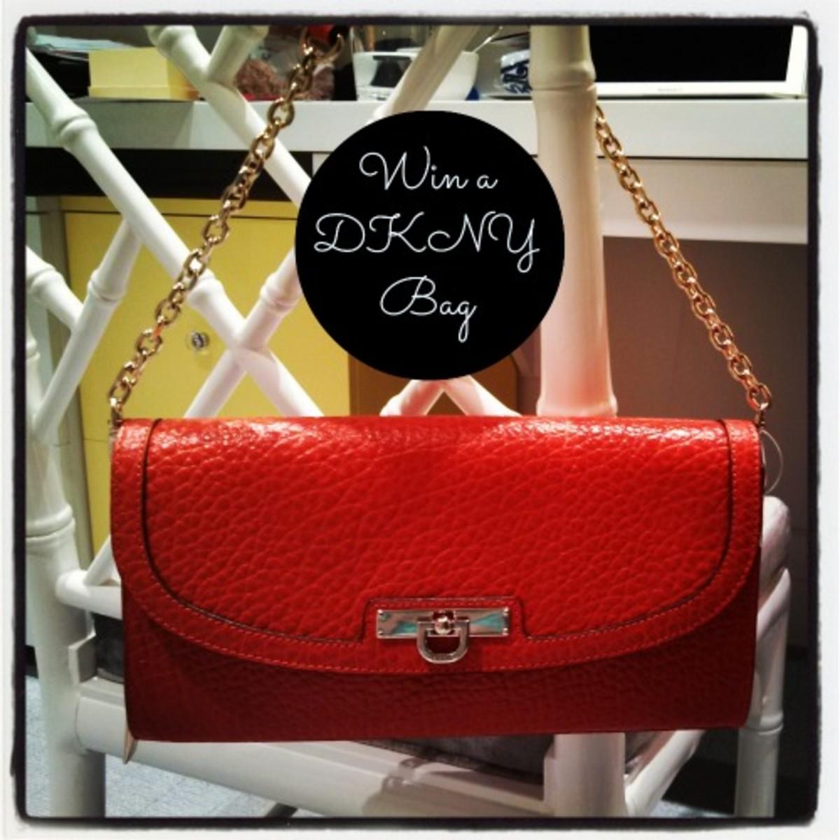 DKNY bag giveaway