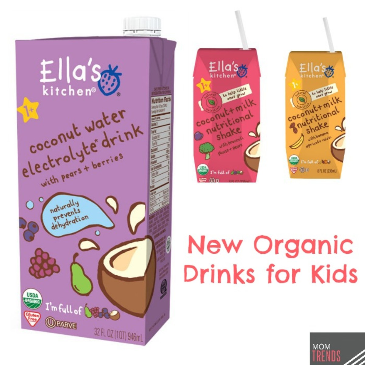 New Organic Drinks for Kids