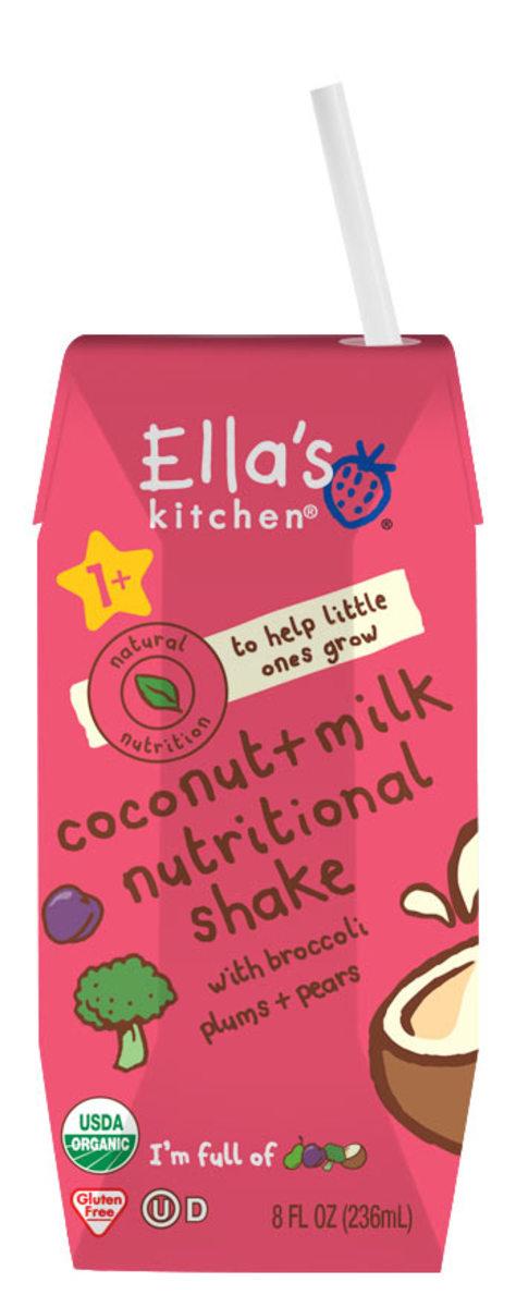 EK Coconut Milk Nutritional Shake - Broccoli Plums Pears