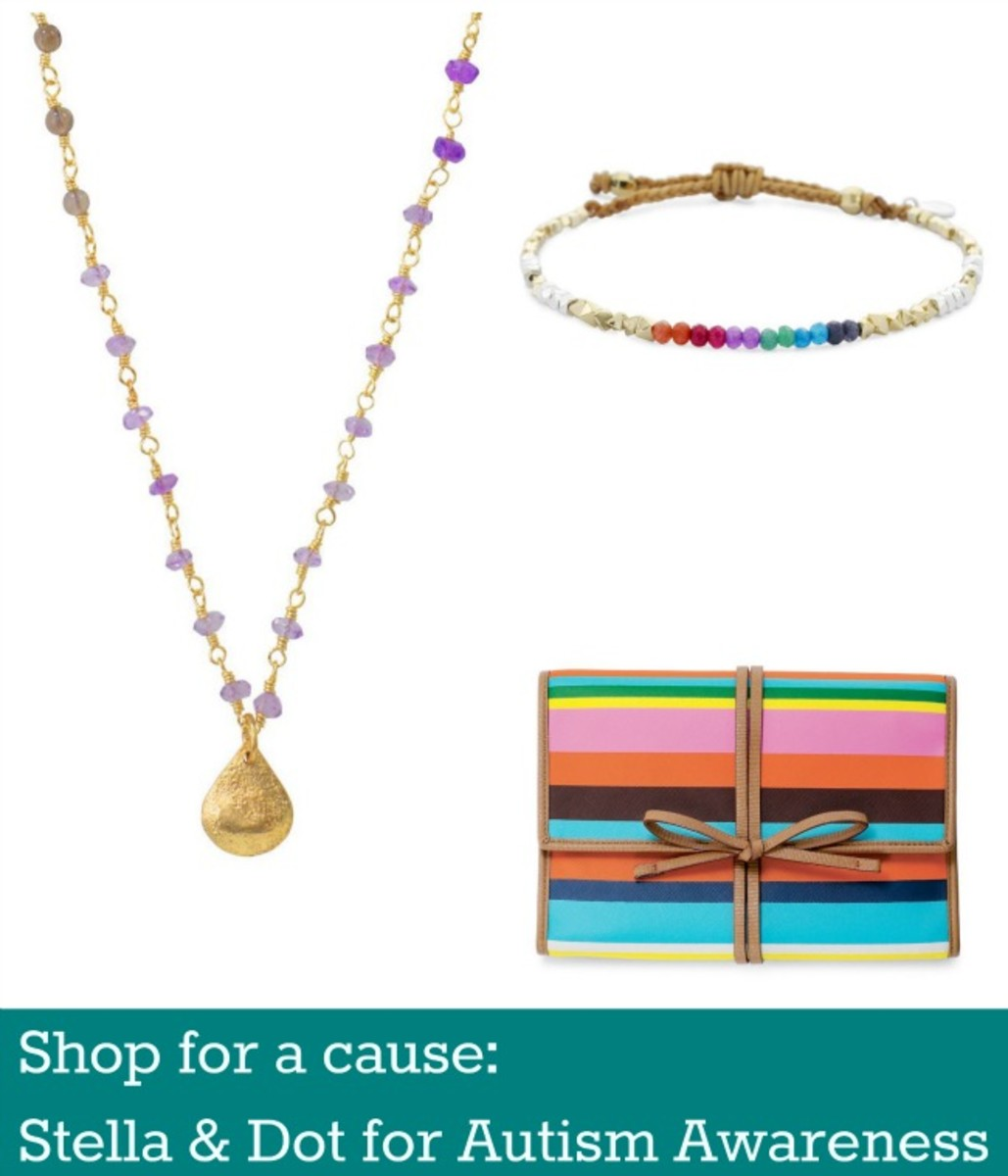 stella dot autism awareness