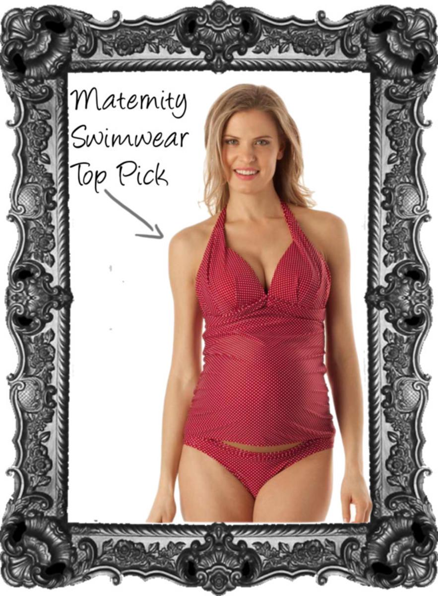 maternity swim top pick