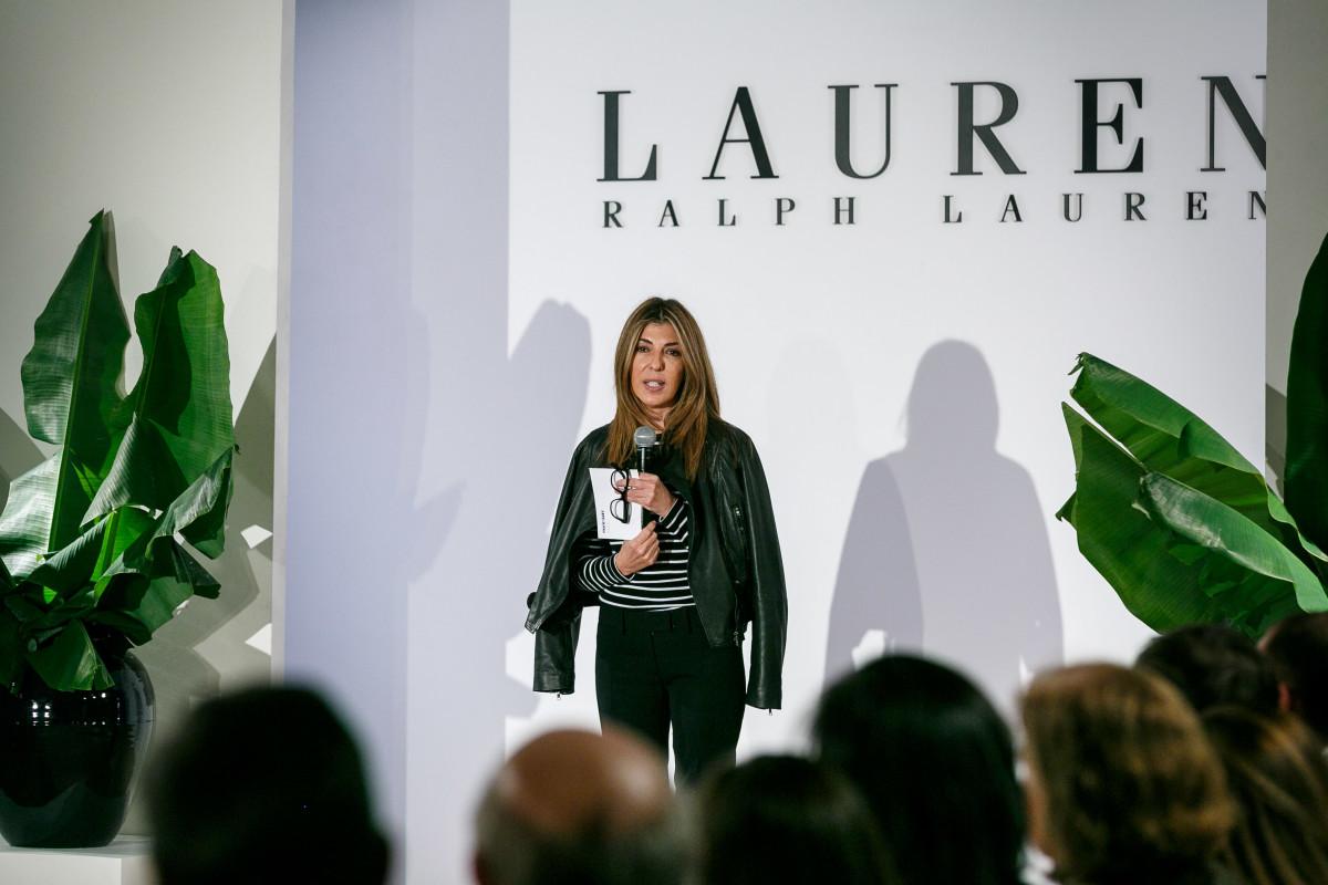nina garcia lauren fashion show