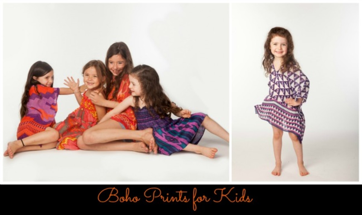 Boho Chic Clothing For Kids vacation style for kids