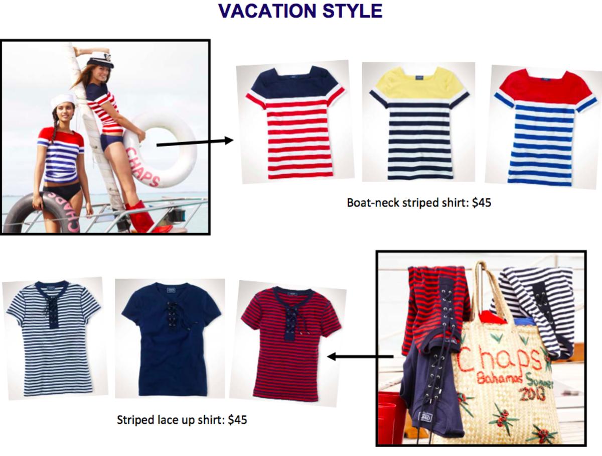 Chaps Summer Fashions